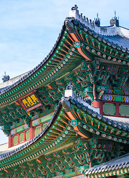 traditional korean architecture in seoul